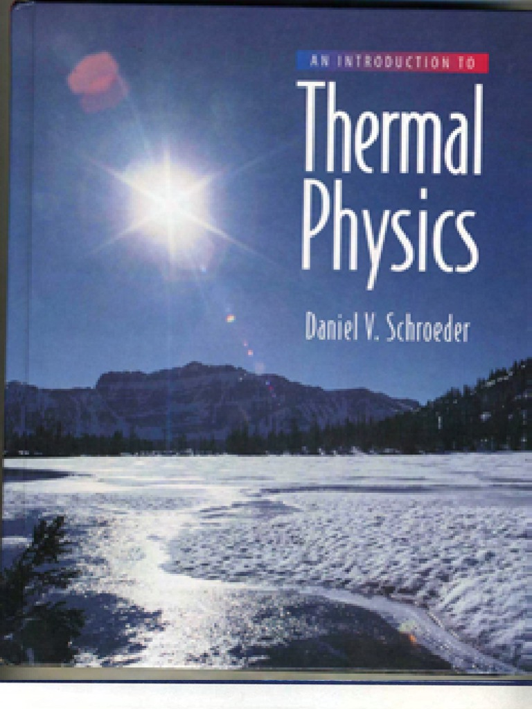 an introduction to thermal physics schroeder solutions manual