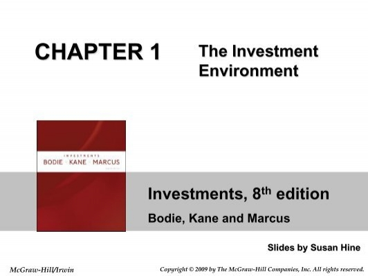 investments 8th edition bodie kane marcus solutions manual