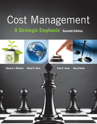 cost management a strategic emphasis blocher pdf solution manual