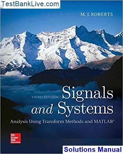 probabilistic methods of signal and system analysis solutions manual pdf