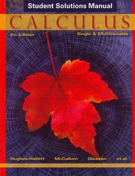 student solutions manual for calculus multivariable